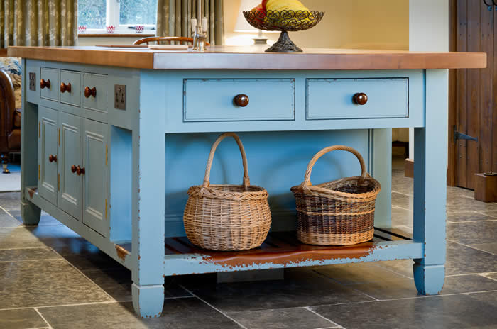Wychwwod furniture 1 for Duck egg blue kitchen island