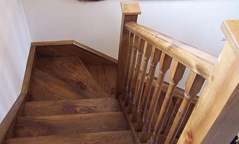 New Elm Stairs